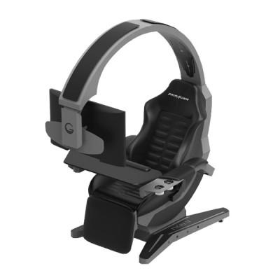 Dxracer Workstation Game Chair - Silver